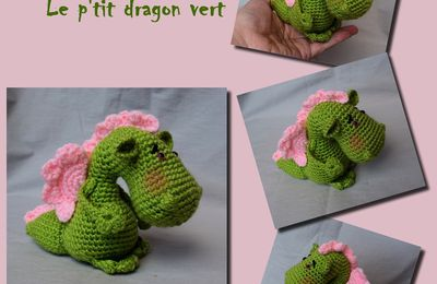 Croq'Feu, Le petit dragon vert
