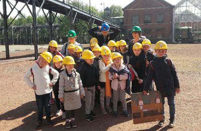 Voyage dans la mine pour la classe de CP/CE1 de Mme Fourdin