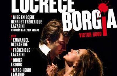 LUCRECE BORGIA de Victor Hugo (1802-1885)