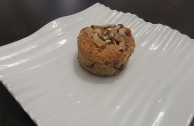 Moelleux spéculoos-amandes et pépites de chocolat