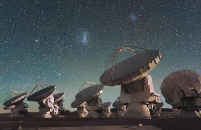 Les étranges signaux radios proviennent bien de l'espace