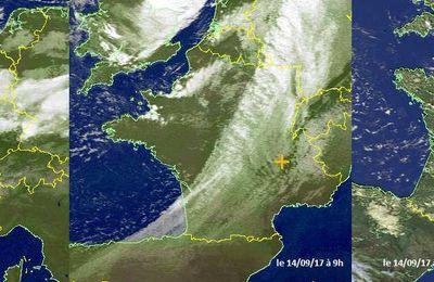 la pluie du 13 et 14 septembre 2017 sur la France !