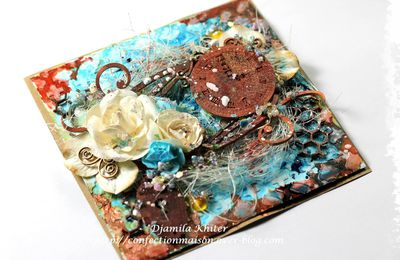 Mixed media carte