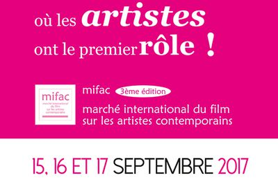 L'affiche officielle du MIFAC 2017
