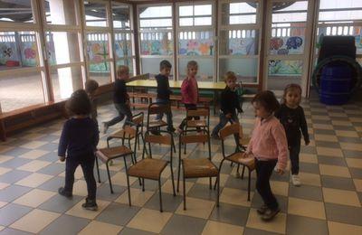 Journée de cohésion à la maternelle !