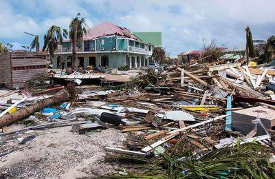 Iles de Saint-Martin et de Saint-Barthélemy: Ouragan Irma Sept.2017, construire autrement, en dur...