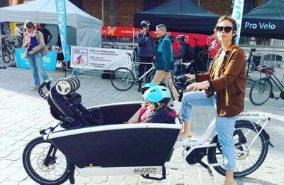 Semaine de la mobilité  : En bakfiets met Caro!