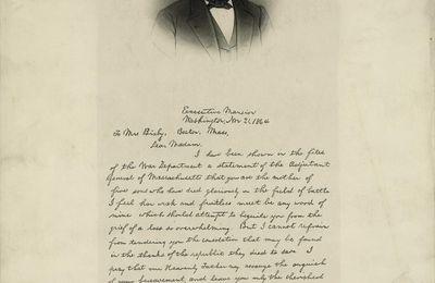 La Lettre de Lincoln à Lydia Bixby