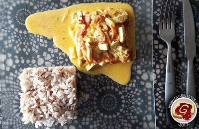 Recette : Tofu Coco Curry