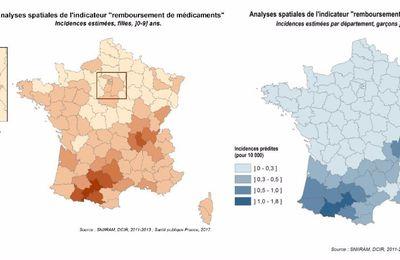 Puberté précoce : la carte de France des perturbateurs endocriniens