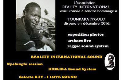 Hommage à TOUNKARA N'Golo - association Reality International