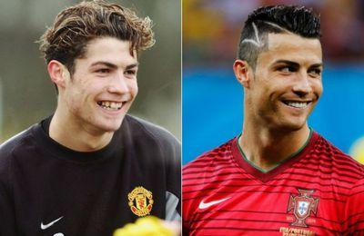 Los años le sientan bien a Cristiano Ronaldo ¿no crees?