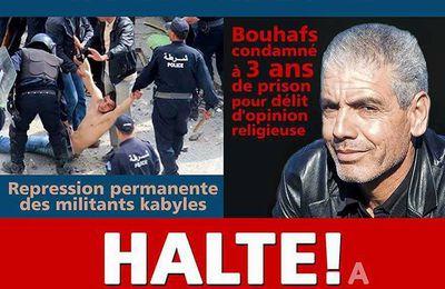 Libérez Slimane Bouhas ! Tous au rassemblement le 12 novembre à 15 h au Vieux-Port à Marseille