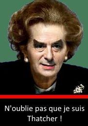 Fillon se revendique de Thatcher...