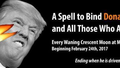 Des « sorciers » se donnent rendez-vous à New York pour jeter un sort à Trump !