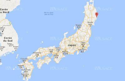 Un séisme d'une magnitude de 6,1 frappe la côte est du Japon + à Los Angeles de magnitude 3,6