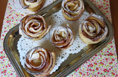 Tartelettes Roses aux Pommes