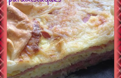 Quiche double jambon