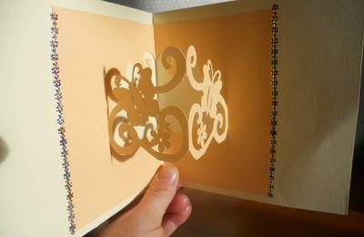 Fichier silhouette sst studio gratuit kirigami papillons