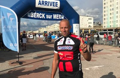 Julien en MIB au Cross Tri de Berck