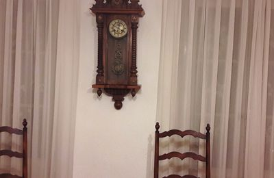 Un petit poème: L'horloge