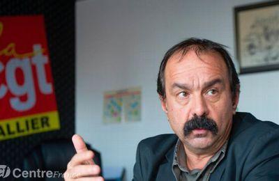 """Philippe Martinez : """"On n'est pas là pour dire pour qui voter"""""""
