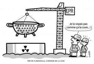 La manifestation anti-nucléaire, aura lieu à 14h 30, Place de la Mairie de Saint Lô.