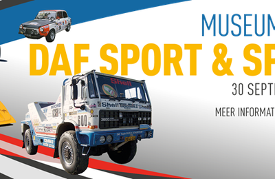 DAF SPORT and SPECIALS. MUSEE DAF EINDHOVEN 30 SEPTEMBRE - 1 OCTOBRE 2017