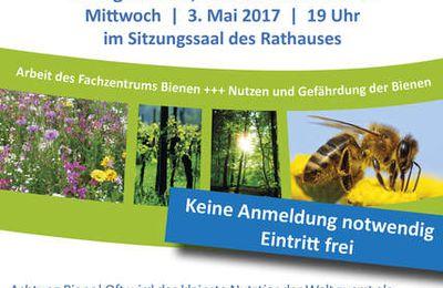 Elektromobilität und Bienen stehen am 3. und 8. Mai 2017 im Fokus der Veitshöchheimer Klimaschutz-Vortragsreihe