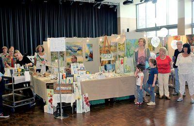Veitshöchheimer Hobbykunstausstellung zog über  2.500 Besucher in die Mainfrankensäle