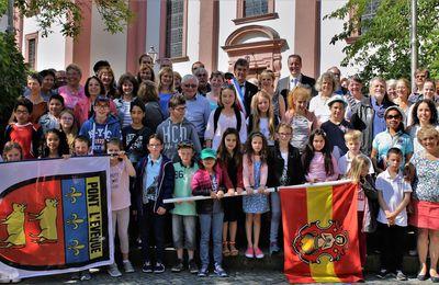 45 Gäste aus der französischen Partnerstadt, darunter 24 Kinder, vier Tage zu Gast in Veitshöchheim