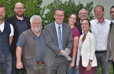 Anpacken für eine weitere Amtszeit -  CSU/VM nominiert Bürgermeister Jürgen Götz erneut für die Kommunalwahl 2020