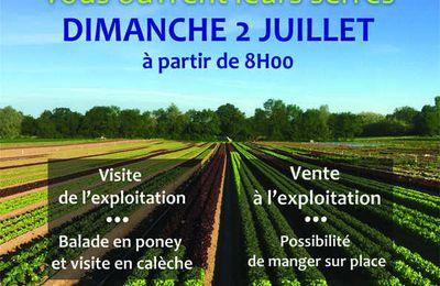 Les jardins de Jimmy, Loïc et Jilly ouvrent leurs serres le 2 juillet.