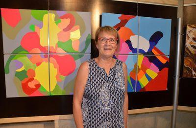 Anne-Marie Bidault trouve dans la peinture des libertés de narration.