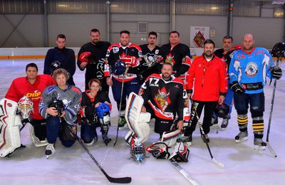 Patinoire : un match de hockey au profit de l'association Flo'Wer.