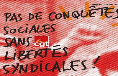 CGT : Toujours mobilisés pour défendre nos droits