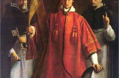Saint Vincent, Diacre et Martyr († 304)