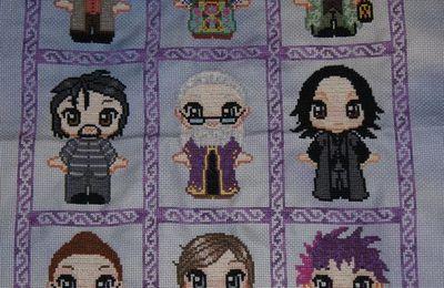 Cadre pour mes petits personnages Harry Potter fin