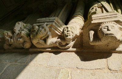 L'enclos paroissial de Brasparts. I. La Démone tentatrice du porche sud.