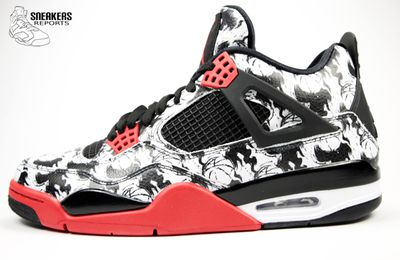 purchase cheap c4c15 0ee5d Nike Air Jordan IV TATTOO