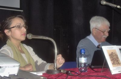 LOUIZA AVAIT PRESIDE MA CONFERENCE A BEJAIA