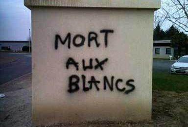 3873 - TOUT VA BIEN. Infos zappées par la télé : criminalité (et racisme anti-blanc) en France. Elle a diminué (sic) d'après l'impayable Le Roux, ministre de l'intérieur.