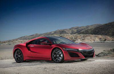VOITURES DE LEGENDE (701) : ACURA  NSX - 2017