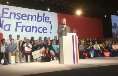 A Arras, E. Macron : réduire les fractures, pour une France de l'unité !