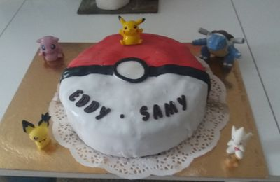 Gateau pokemon