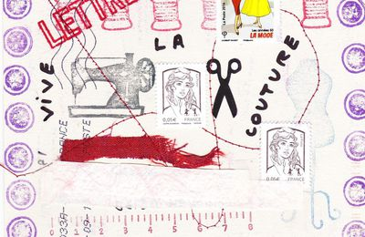 UN PEU DE MAIL ART... quelques photos (par Annie G.)