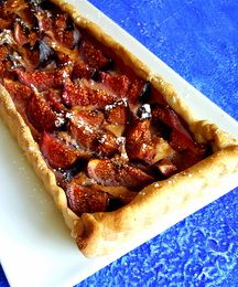 Tarte figues cannelle