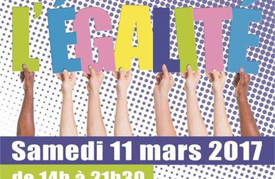 Fête de l'Egalité à Abbeville le 11 mars 2017