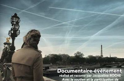 "Projection du film "" Vers un climat artificiel"" à Paris le 24 octobre 2017"