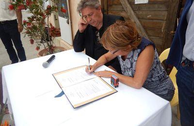 Vernissage expo photos Petites Iles pionnières du développement durable 2
